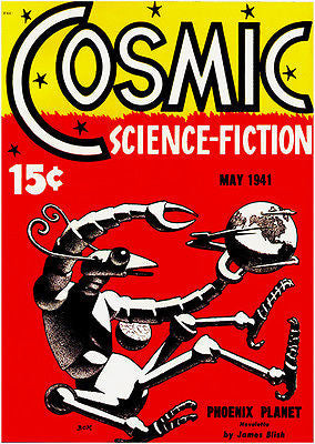 Cosmic Science Fiction - May 1941 - Magazine Cover Poster