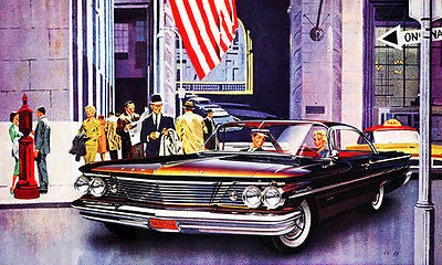 1960 Pontiac - Promotional Advertising Poster