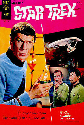 Star Trek - 1967 - Comic Book Cover Poster