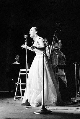 Billie Holiday - Newport Jazz Festival - July 1954 - Photo Poster
