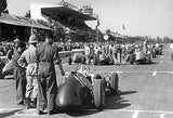 1949 Ferrari 125 C F1 Works Car at 1951 GP Italy - Photo Poster