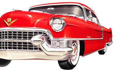 1955 Cadillac - Promotional Advertising Poster