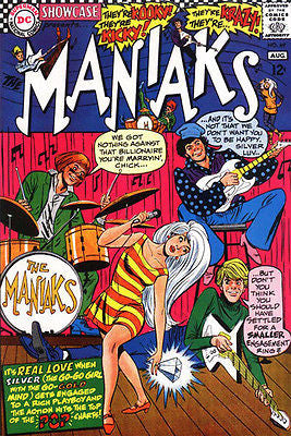 Maniaks #69 - Comic Book Cover Poster