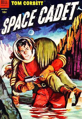 Tom Corbett, Space Cadet #11 - Sept - Nov 1954 - Comic Book Cover Mug