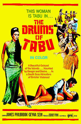 The Drums of Tabu - 1966 - Movie Poster
