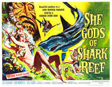 She Gods Of Shark Reef - 1958 - Movie Poster