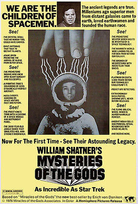 Mysteries of the Gods - 1976 - Movie Poster