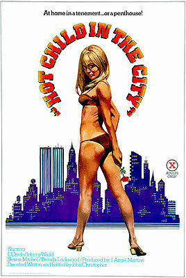 Hot Child In The City - 1979 - Movie Poster