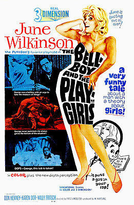 The Bellboy and the Play-Girls - 1962 - Movie Poster