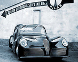 1946 Alfa Romeo 2500 SS Bertone - Promotional Advertising Poster