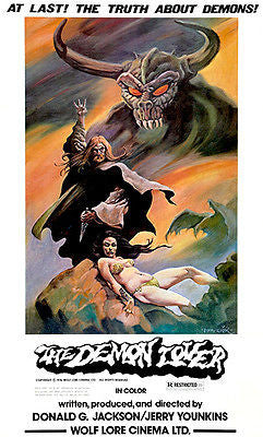 The Demon Lover - 1976 - Movie Poster