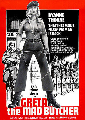 Greta The Mad Butcher - 1977 - Movie Poster