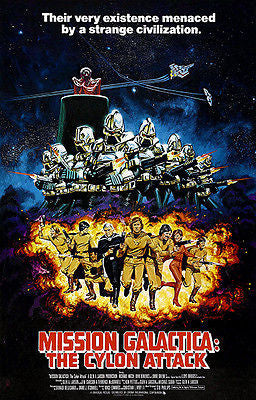 Mission Galactica: The Cylon Attack - 1979 - Movie Poster