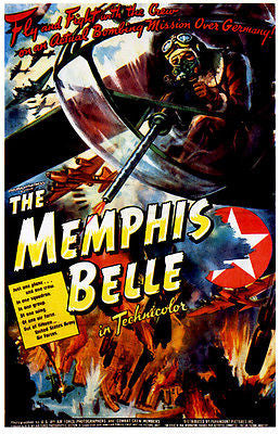 The Memphis Belle - 1944 - Movie Poster