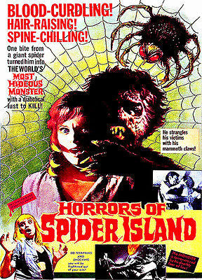 Horrors of Spider Island - 1960 - Movie Poster