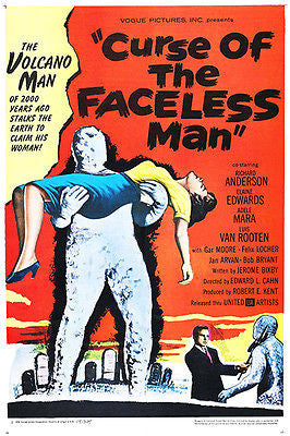 Curse of the Faceless Man - 1958 - Movie Poster