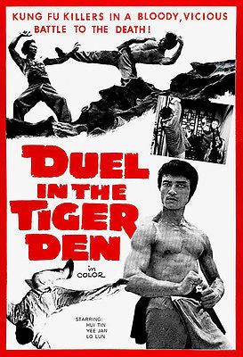 Duel In The Tiger Den - 1972 - Movie Poster