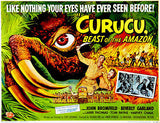 Curucu, Beast of the Amazon - 1956 - Movie Poster