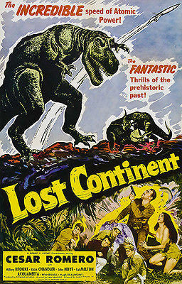 Lost Continent - 1951 - Movie Poster