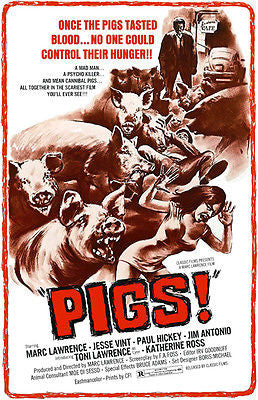 Pigs! - 1972 - Movie Poster
