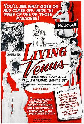 Living Venus - 1961 - Movie Poster Magnet