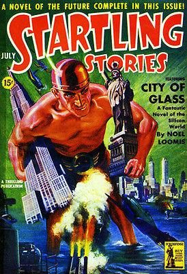 Startling Stories - July 1942 - Magazine Cover Magnet