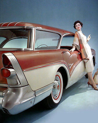1957 Buick Century Caballero Wagon - Promotional Advertising Poster