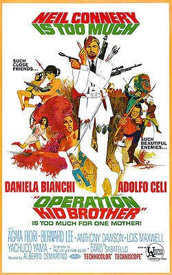 Operation Kid Brother - 1967 - Movie Poster