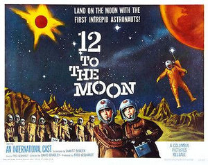 12 To The Moon - 1960 - Movie Poster Magnet