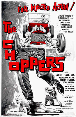The Choppers - 1961 - Movie Poster