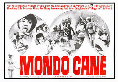 Mondo Cane - 1962 - Movie Poster
