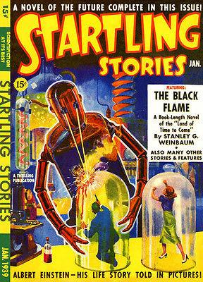 Startling Stories - Comic Book Cover Magnet