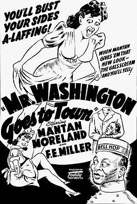 Mr. Washington Goes To Town - 1941 - Movie Poster