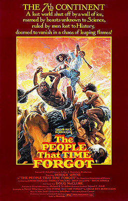 The People That Time Forgot - 1977 - Movie Poster