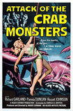 Attack of the Crab Monsters - 1957 - Movie Poster