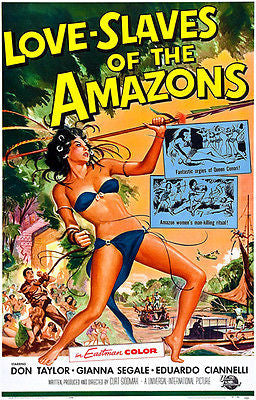 Love Slaves Of The Amazons - 1957 - Movie Poster