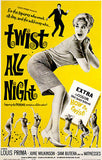 Twist All Night - 1961 - Movie Poster