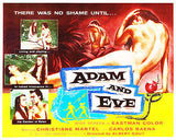 Adam and Eve - 1956 - Movie Poster