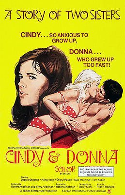 Cindy & Donna - 1970 - Movie Poster