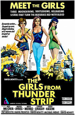 The Girls From Thunder Strip - 1970 - Movie Poster
