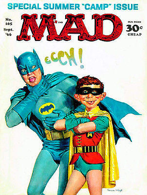MAD Magazine #105 - September 1966 - Cover Poster