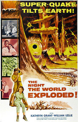 The Night The World Exploded! - 1957 - Movie Poster