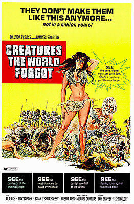 Creatures the World Forgot - 1971 - Movie Poster