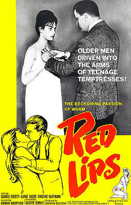 Red Lips - 1960 - Movie Poster