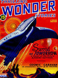 Thrilling Wonder Stories - Fall 1945 - Magazine Cover Poster