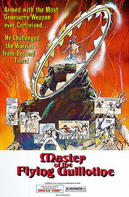 Master Of The Flying Guillotine - 1976 - Movie Poster