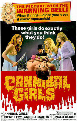 Cannibal Girls - 1973 - Movie Poster