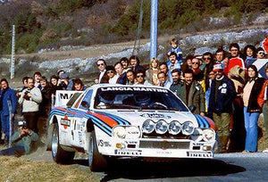 1983 Lancia Abarth 151 at Monte Carlo Rally - Photo Magnet
