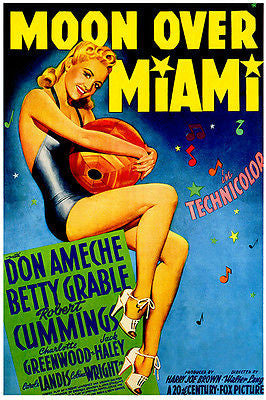 Moon Over Miami - 1941 - Movie Poster
