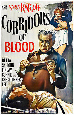Corridors of Blood - 1958 - Movie Poster